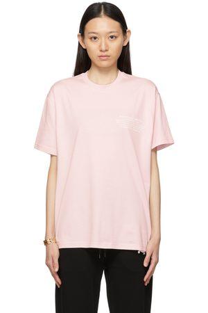 Burberry Donna T-shirt a maniche corte - Pink Location Print T-Shirt