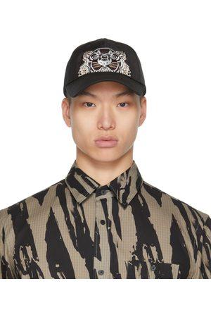Kenzo Uomo Cappelli con visiera - Black Canvas Kampus Tiger Cap