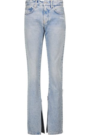 OFF-WHITE Jeans slim a vita alta