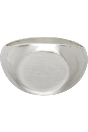 Jil Sander Uomo Anelli - Silver Classic Chevalier Ring