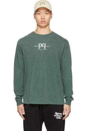 Museum Of Peace & Quiet Green PQ Leisure Long Sleeve T-Shirt