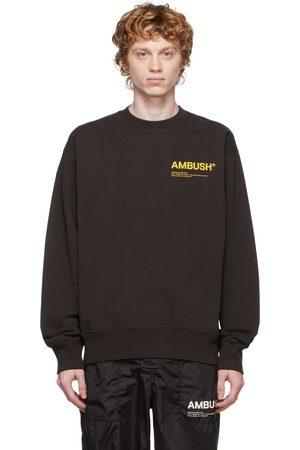 AMBUSH Brown 'Workshop' Sweatshirt