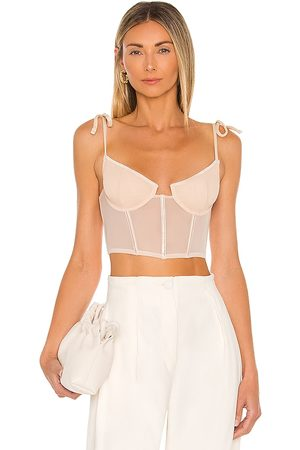 Kat The Label Femme Bustier in - Blush. Size L (also in M, S, XS).