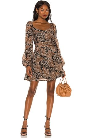 Minkpink Persian Paradise Mini Dress in - Brown. Size L (also in M, S, XS).