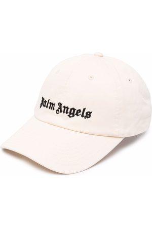 Palm Angels Cappello da baseball con ricamo - Toni neutri