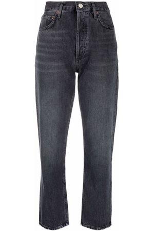 AGOLDE Donna Affusolati - Jeans crop affusolati