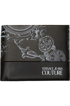 VERSACE Uomo Portafogli e portamonete - Black & White Regalia Baroque Bifold Wallet