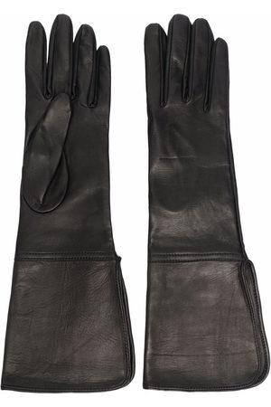 Manokhi Donna Guanti - Guanti con inserti in pelle