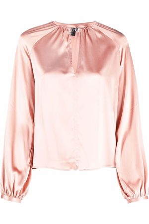 Pinko Donna Bluse - Blusa con maniche a palloncino
