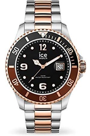 Ice-Watch Ice Steel Chic Silver Rose-Gold, Orologio Soldi Unisex con Cinturino in Metallo, 016546, Medium