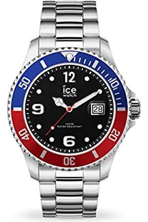 Ice-Watch Ice Steel United Silver, Orologio Soldi da Uomo con Cinturino in Metallo, 016547, Large