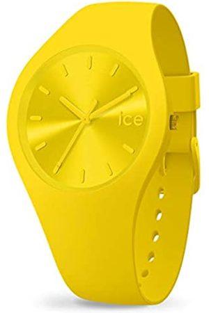 Ice-Watch Ice Colour Citrus, Orologio Giallo Unisex con Cinturino in Silicone, 017909, Medium