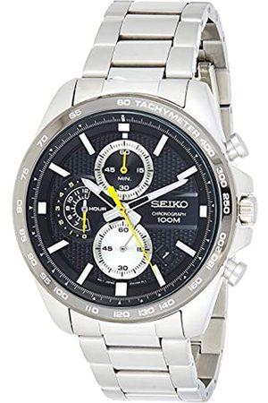 Seiko Orologio Cronografo Quarzo Uomo con Cinturino in Acciaio Inox SSB261P1