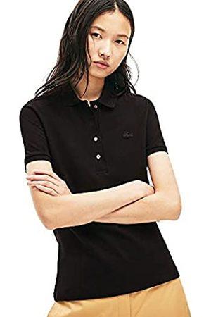 Lacoste PF5462 Polo, Black, 46 Donna