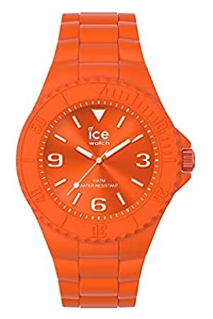 Ice-Watch Orologi - Ice Generation Flashy Orange, Orologio Unisex con Cinturino in Silicone, 019162, Medium