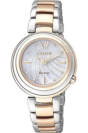 Citizen Orologio Analogico Quarzo Donna con Cinturino in Acciaio Inox EM0335-51D