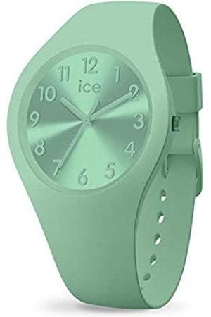 Ice-Watch Ice Colour Lagoon, Orologio Verde da Donna con Cinturino in Silicone, 017914, Small