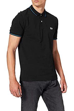 Lee Pique Polo T-Shirt, Avorio , Large Uomo