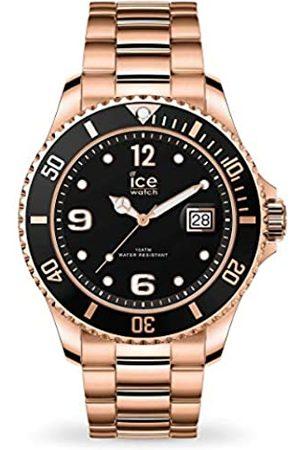 Ice-Watch Ice Steel Rose-Gold, Orologio Rose-Gold Unisex con Cinturino in Metallo, 016763, Medium