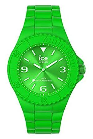 Ice-Watch Orologi - Ice Generation Flashy Green, Orologio Unisex con Cinturino in Silicone, 019160, Medium