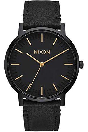 Nixon Orologio Unisex Digitale al Quarzo con Cinturino in Pelle – A1058-1031-00