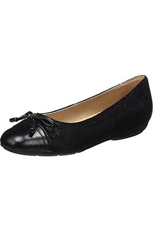 Geox D ANNYTAH D, Ballet Flat. Donna, Black, 38.5 EU