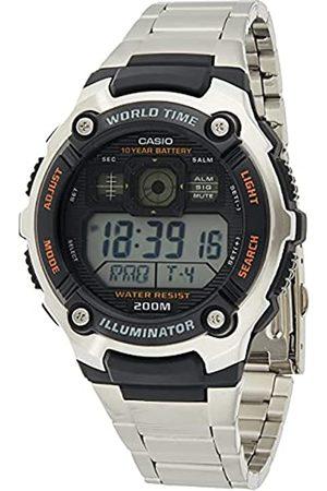 Casio Uomo Orologi - Orologio analogico-Digitale al Quarzo Uomo con Cinturino in Acciaio Inox AE-2000WD-1AVEF