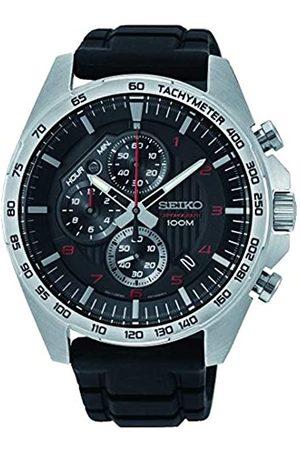 Seiko Orologio Cronografo Quarzo Uomo con Cinturino in Acciaio Inox SSB325P1