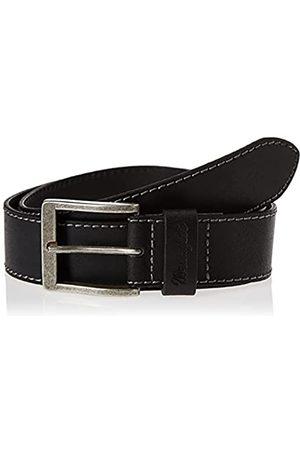 Wrangler Stitched Belt, Nero , 110 Uomo