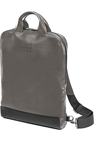 Moleskine Classic Device Bag Zaino Verticale Porta PC in Pelle per Laptop, Tablet, Notebook e iPad fino a 15'', da Ufficio e Lavoro, Dimensioni 29 x 39 x 6 cm, Colore Grigio Fango
