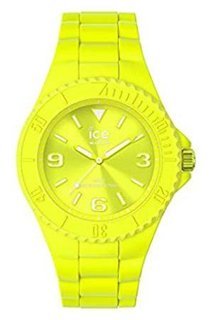 Ice-Watch Ice Generation Flashy Yellow, Orologio Unisex con Cinturino in Silicone, 019161, Medium