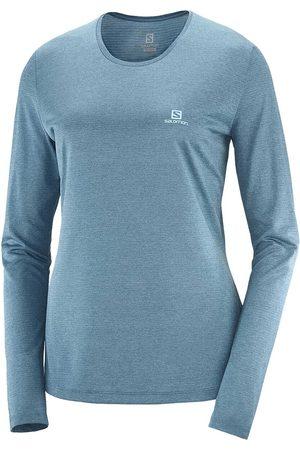 Salomon Donna T-shirt a maniche lunghe - MAGLIA MANICA LUNGA AGILE DONNA