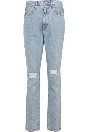 SLVRLAKE Jeans distressed Beatnik a vita alta