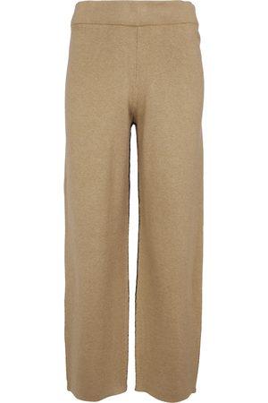 Proenza Schouler Pantaloni sportivi in cotone e cashmere