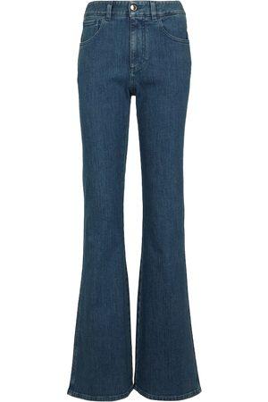 Chloé Jeans flared a vita alta