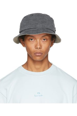Paul Smith Uomo Cappelli - Grey Denim Bucket Hat