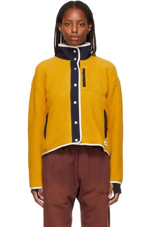 The North Face Donna Giacche di pile - Yellow Fleece Cragmont Jacket