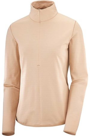 Salomon Donna T-shirt a maniche lunghe - MAGLIA MANICA LUNGA 1/2 ZIP OUTRACK DONNA