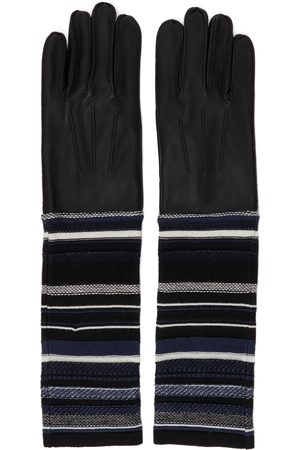 Bed J.W. Ford Lambskin Knit Gloves