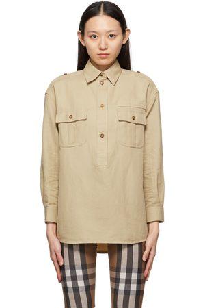 Burberry Beige Poppy Shirt