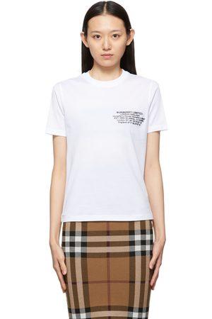 Burberry Jemma Location Print T-Shirt