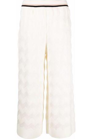 Missoni Donna A zampa - Pantaloni crop a gamba ampia
