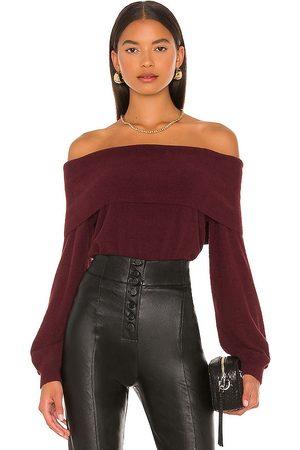 Bobi BLACK Fuzzy Sweater in - . Size L (also in XS, S, M).
