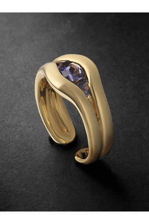 Fernando Jorge Uomo Anelli - Trillion 18-Karat Iolite Ring