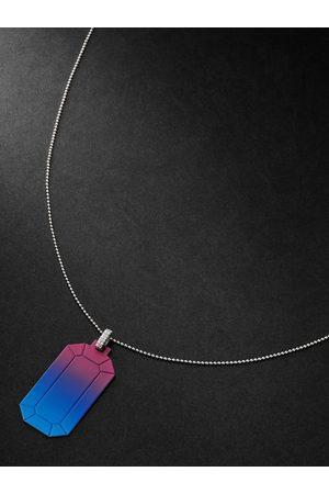 Eera Tokyo 18-Karat White Gold Diamond Pendant Necklace
