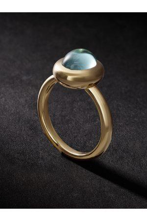 VADA Bubble Aquamarine Ring