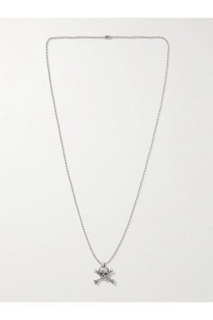 GALLERY DEPT. Uomo Collane - Skull and Crossbone Small Pendant Necklace