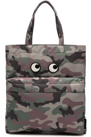 Anya Hindmarch Borsa tote con stampa camouflage