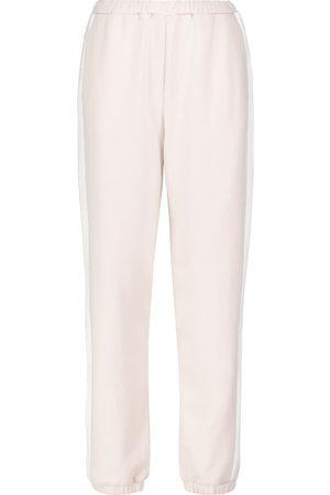 Staud Pantaloni sportivi Cambrie in cotone