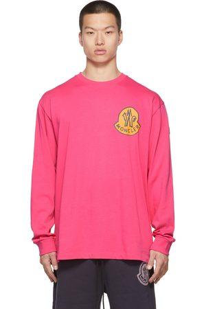 Moncler Genius 2 Moncler 1952 Pink Logo Long Sleeve T-Shirt